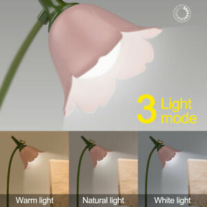 CREATIVE TABLE LAMP DESK STUDY OFFICE BED SIDE NIGHT LIGHT FLEXIBLE WITH BULB