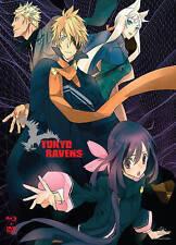 Tokyo Ravens: Season 1 - Part 2 (Blu-ray/DVD, 2015, 4-Disc Set)