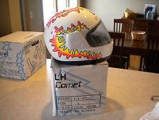 NOS Vintage  Helmet - Gasser Bobber Chopper Sportbike Retro Girls