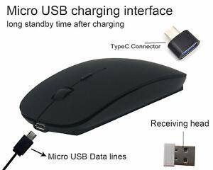 2.4GHz Mini Cordless Wireless Optical Mouse Mice 2.0 USB Receiver PC Laptop MAC