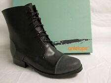 Antelope Size EU 36 US 6 Black Leather Ankle Boots New Womens Shoes