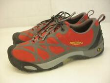 Keen Venture Men's sz 10 M Waterproof Event Shoes Red Gray Hiking Trail Running