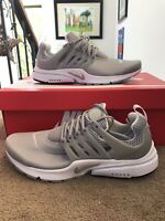 Nike Air Presto Essential Running Shoes Wolf Grey White 848187-013 Men's Size 8
