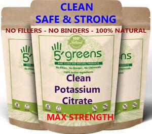 Potassium Citrate Capsules 700mg Vegan No Fillers No Binders 100% Clean Keto