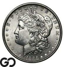 1886 Morgan Silver Dollar Silver Coin, Choice BU++