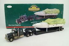Corgi US55709; Kenworth W925 Low Loader & Boat Load; Very Good Boxed