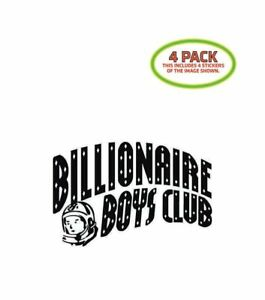 Billionaire Boys Club Sticker Vinyl Decal 4 Pack