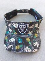 Las Vegas / Oakland Raiders NFL  New Era Visor Hat Adjustable
