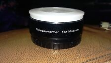 PROMASTER SPECTRUM 7 TELECONVERTER FOR MAXXUM MX-AF MADE IN JAPAN 17X