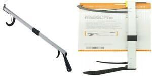 Duro-Med 32 Aluminum Reacher Grabber with Magnetic Tip, Folding