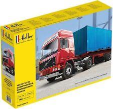 Heller 81702 - 1:32 VOLVO F12-20 Globetrotter & Container semi trailer - Neu