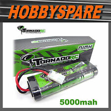 TORNADO RC 7.2v 5000mah HIGH PERFORMANCE NiMH BATTERY TAMIYA PLUG - FREE POST