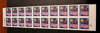 US Booklet Stamp Scott# BK156 Flag and Fireworks 1987  No P#  MNH C479
