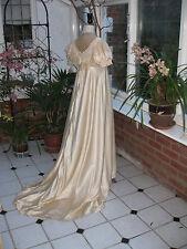 Antiguo Baile Vestido En Seda Raso, temprano 20th Disfraz Teatral C., período,
