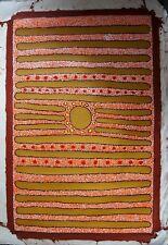 ULTRA RARE - CARMEL YUKENBARRI PAINTING - BALGO HILLS with COA - Indigenous art
