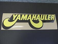 YAMAHAULER DECAL  YAMAHA YZ VINTAGE MOTOCROSS