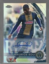 2014 Topps Chrome MLS Autographs #68 Maurice Edu Auto
