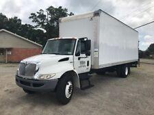 New listing 2011 International Box Truck 4300 24 Ft Box Bank Repo No Reserve