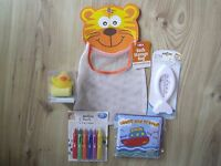 BABY BATH TOY BAG BATHTIME PLAY SET STORAGE/TIDY CHILDS ACTIVITIES BATHROOM FUN