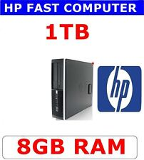 HP COMPUTER PC DUO CORE 8GB RAM ✔ 1TB ✔ WIFI ✔VERY FAST & RELIABLE PC