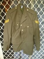 179 1 X ARMY COAT/JACKET CORPORAL MADE 1984 VGC MILITARY WITH ALL BUTTONS 95R