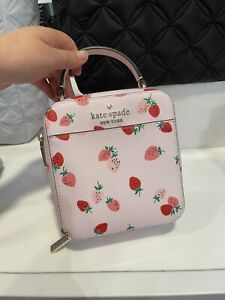 NWT Kate Spade Strawberry Vanity Crossbody Bag