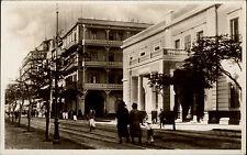 Port Said بور سعيد Ägypten Egypt AK ~1930 Post Office Behörde Gebäude Amt Street