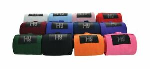 HY ELASTICATED TAIL BANDAGES VARIOUS COLOURS