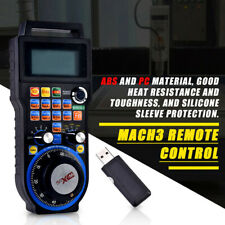 CNC MACH3 6-Axis Wireless Electronic Handheld Handwheel Controller For Engraving