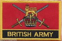 British Army Ensign Flag Embroidered Patch Badge - Sew or Iron on