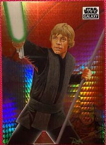 2021 Star Wars Chrome Galaxy, #89 Luke Prism Refractor Parallel Card #69/75
