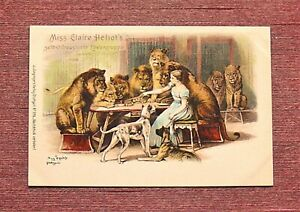 LION TAMER CLAIRE HELIOT HIPPODROME YANKEE CIRCUS ON MARS NEW YORK CITY