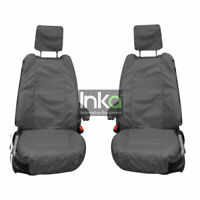 Range Rover Evoque 5 DR INKA Front Set Tailored Waterproof Seat Covers Grey