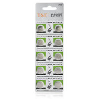 10pcs 1.5V GP LR44 AG13 A76 SR66 Button Cell Coin Battery Batteries HOT