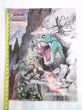 VINTAGE MASTERS OF THE UNIVERSE HE-MAN POSTER FRIGHT ZONE! Earl Norem art
