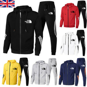 UK The North Face Mens Sets Sportswear Gym Sweat Suit Jogging  Casual Tracksuit