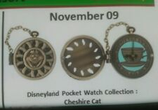 Disneyland pocket watch collection Cheshire Cat pin  presale 11/9/17