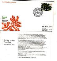 1973 British Trees The Oak - Plant A Tree Exhibition, Hatfield Broad Oak
