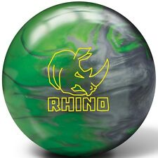 15lb Brunswick Rhino Green Silver Pearl Reactive Bowling Ball NEW