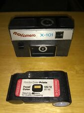 Kamero X-101 Vintage 126 camera / collectible antique classic photography rare