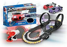 Amazing Electric Slot Car Track Set by S&P Corp. TopTurbo Snow Hurricane I