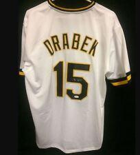 Doug Drabek Pittsburgh Pirates Signed Jersey  w/ JSA - COA - Size XL