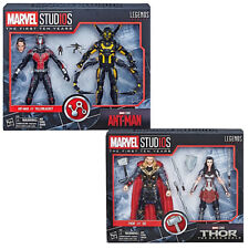 "Marvel Legends 10th Anniversary 6"" Ant-man & Yellow Jacket +Thor & Sif Set UK"