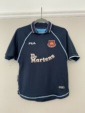 1999-01 West Ham United Third Shirt - Youth XL