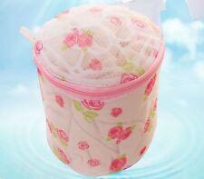 Zipped Convenient Laundry Washing Bag Laundry Bags Net Mesh Socks Bra Clothes