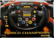 Affiche WORLD CHAMPIONS FERRARI - MOMO Italy