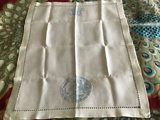 Blue willow pattern Card table cloth  1