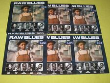 RAW BLUES 5 CD Album Set ft Muddy Waters Howlin Wolf Jimmy Witherspoon Rock Live