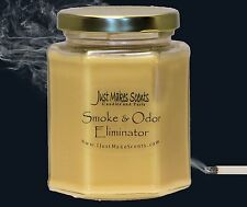 Smoke & Odor Eliminator Blended Soy Candle by Just Makes Scents