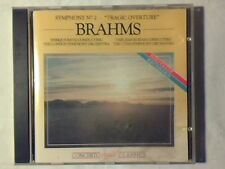 ENRIQUE BATIZ VARUJAN KOJIAN Brahms: symphony n. 2 Tragic overture cd LIKE NEW!!
